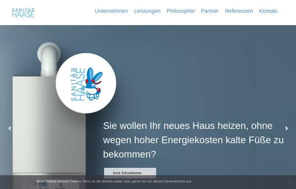 Vorschau von www.sanitaer-haase.de, Sanitär-Haase Chemnitz