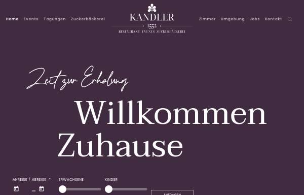 Vorschau von www.hotelkandler.de, Hotel Kandler