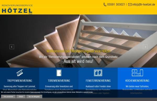 Vorschau von www.tueren-treppenrenovierung-hoetzel.de, Renovierungsservice Hötzel