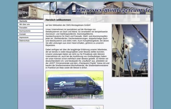Vorschau von www.sws-montageteam.de, SWS-Montageteam GmbH