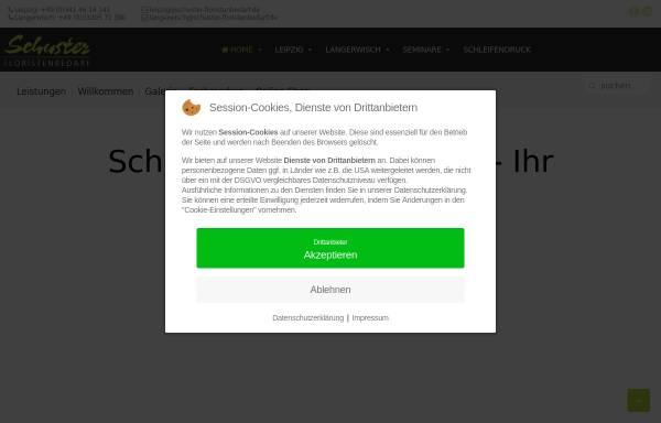 Vorschau von www.schuster-floristenbedarf.de, Siegfried Schuster GmbH - Floristikhandel