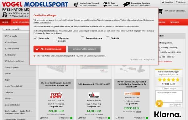 Vorschau von www.vogel-modellsport.de, Vogel-Modellsport