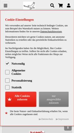 Vorschau der mobilen Webseite www.vogel-modellsport.de, Vogel-Modellsport