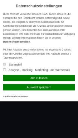 Vorschau der mobilen Webseite www.versicherungsvergleich-leipzig.de, Maklerbüro Schmidtke-Wuttke-Hofmann