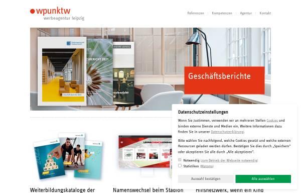 Vorschau von www.wpunktw.com, Wpunktw Kommunikation und Werbung GmbH