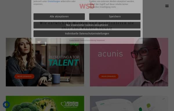 Vorschau von www.wsb-werbeagentur.de, WSB Werbeagentur GmbH