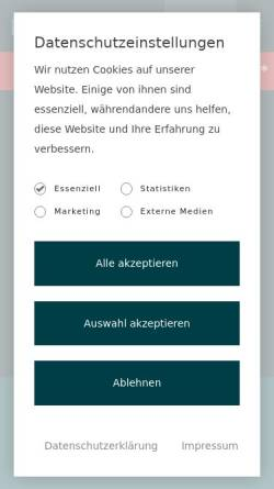Vorschau der mobilen Webseite www.lucrosum.de, lucrosum Immobilienvermittlungs-GmbH & Co. KG