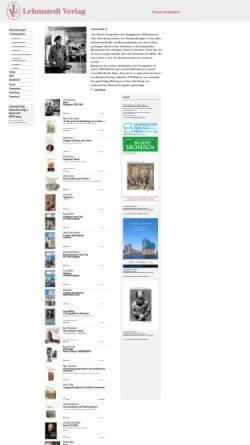 Vorschau der mobilen Webseite www.lehmstedt.de, Lehmstedt Verlag Leipzig
