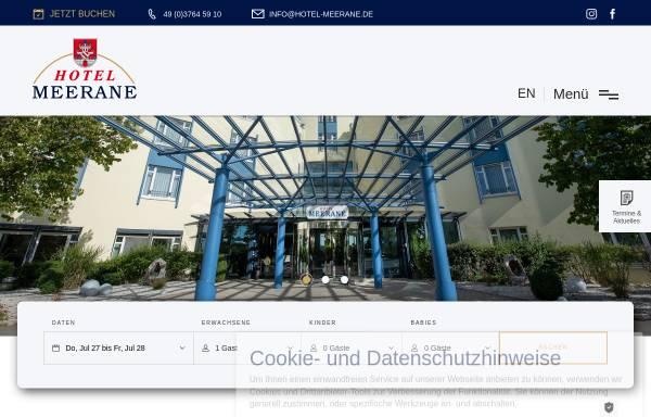 Vorschau von www.hotel-meerane.de, Hotel Meerane