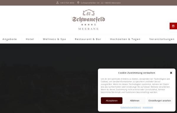 Vorschau von www.schwanefeld.de, Hotel Schwanefeld