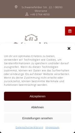 Vorschau der mobilen Webseite www.schwanefeld.de, Hotel Schwanefeld