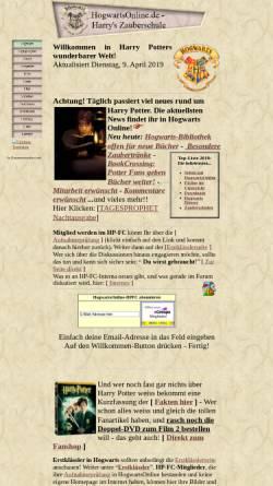 Vorschau der mobilen Webseite hogwartsonline.de, HogwartsOnline.de - Harrys Zauberschule