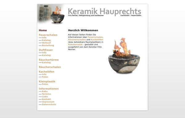 Vorschau von www.keramik-hauprechts.de, Keramik Hauprechts
