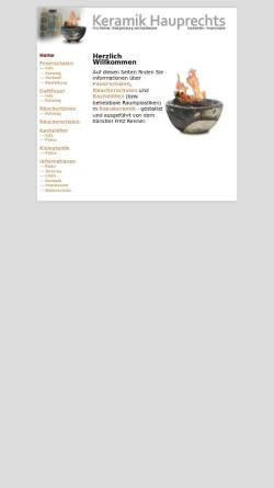 Vorschau der mobilen Webseite www.keramik-hauprechts.de, Keramik Hauprechts