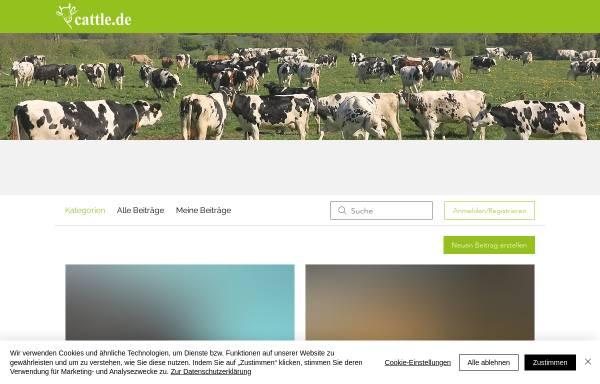 Vorschau von www.cattle.de, cattle.de