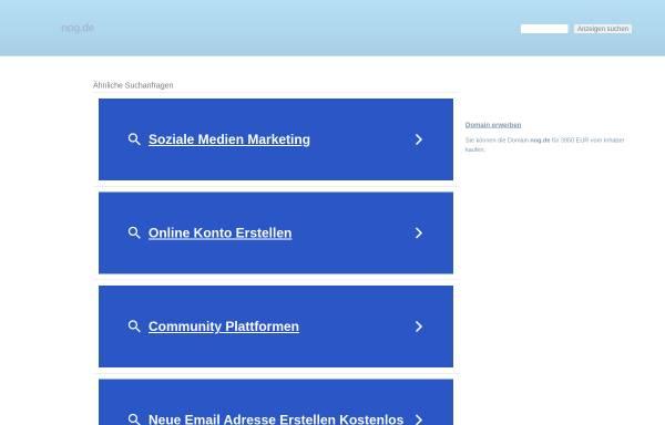Vorschau von www.nog.de, Nord-Ost Genetic GmbH & Co KG