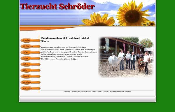 Vorschau von www.zwergzebu.eu, FEP Delikatessen Felix Hohmeyer, Egbert Kemker & Peter Schröder GbR