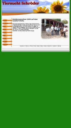 Vorschau der mobilen Webseite www.zwergzebu.eu, FEP Delikatessen Felix Hohmeyer, Egbert Kemker & Peter Schröder GbR