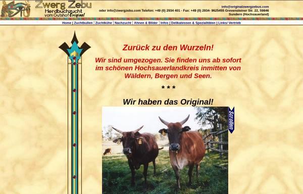 Vorschau von www.zwergzebus.com, Zwerg–Zebus vom Gutshof Original - Assimina Christopoulou