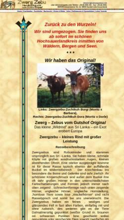 Vorschau der mobilen Webseite www.zwergzebus.com, Zwerg–Zebus vom Gutshof Original - Assimina Christopoulou