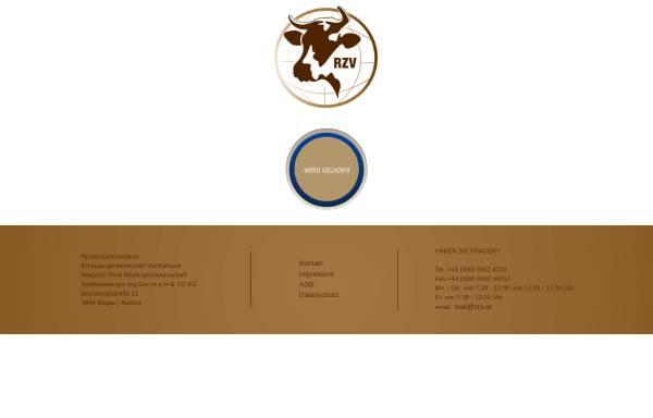 Vorschau von www.rzv.at, NatürlichRind - Rinderzuchtverband Vöcklabruck