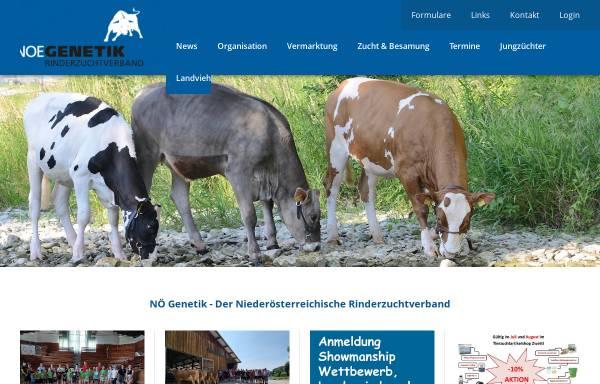 Vorschau von www.noegenetik.at, Noegenetik - Nö. Genetik Rinderzuchtverband