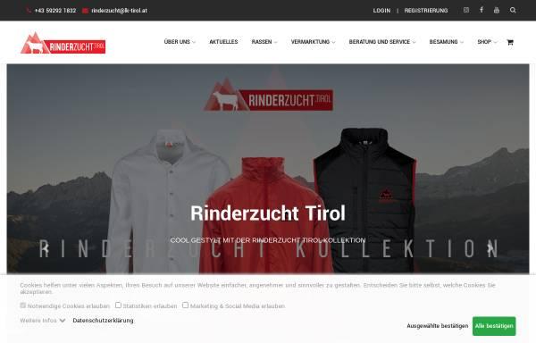 Vorschau von www.rinderzucht-tirol.at, Rinderzucht Tirol
