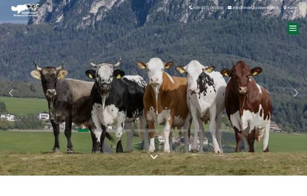 Vorschau von www.rinderzuchtverband.it, Südtiroler Rinderzuchtverband Gen.m.b.H.
