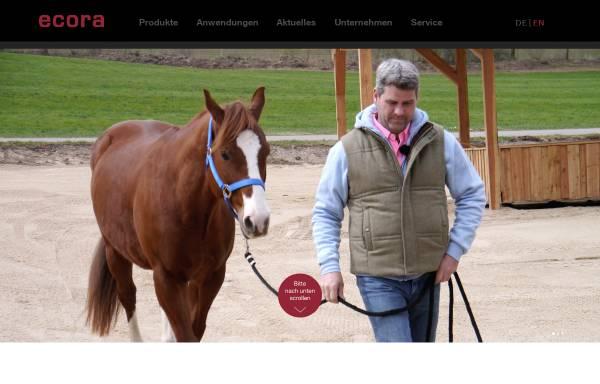 Vorschau von www.ecora.de, Ecora GmbH