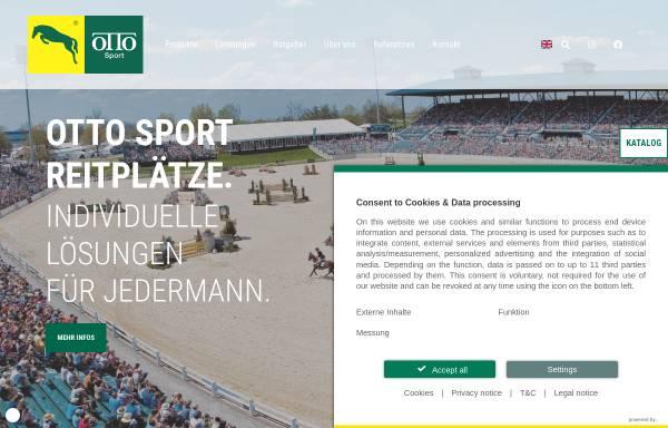 Vorschau von www.ottosport.de, Otto Sport- und Reitplatz GmbH