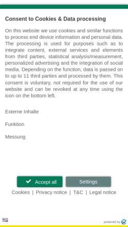 Vorschau der mobilen Webseite www.ottosport.de, Otto Sport- und Reitplatz GmbH