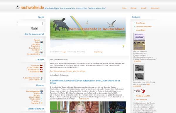 Vorschau von www.rauhwoller.de, Pommern an der Weser, Norbert Gloor