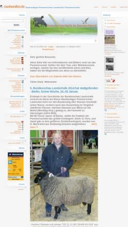 Vorschau der mobilen Webseite www.rauhwoller.de, Pommern an der Weser, Norbert Gloor