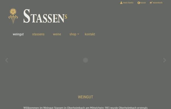 Vorschau von www.stassenwein.de, Weingut und Ferienhaus Jürgen Stassen