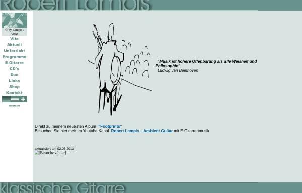 Vorschau von www.rlampis.de, Lampis, Robert
