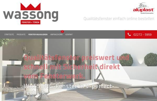 Vorschau von www.wassong-fenster.de, Wassong Gmbh Fenster und Türen