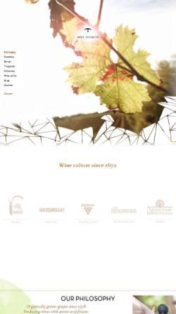 Vorschau der mobilen Webseite www.weingut-axel-schmitt.de, Weingut Axel Schmitt