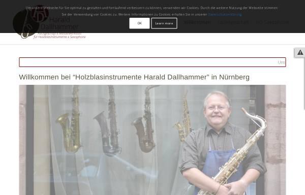 Vorschau von www.hd-saxophone.de, HD Saxophone by Harald Dallhammer