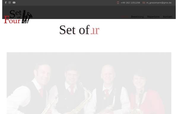 Vorschau von www.setoffour.de, Set Of Four, Saxophon-Quartett