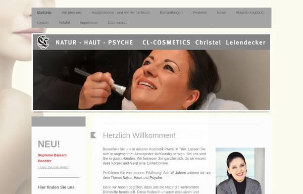 Vorschau von www.clcosmetics.de, CL Cosmetics
