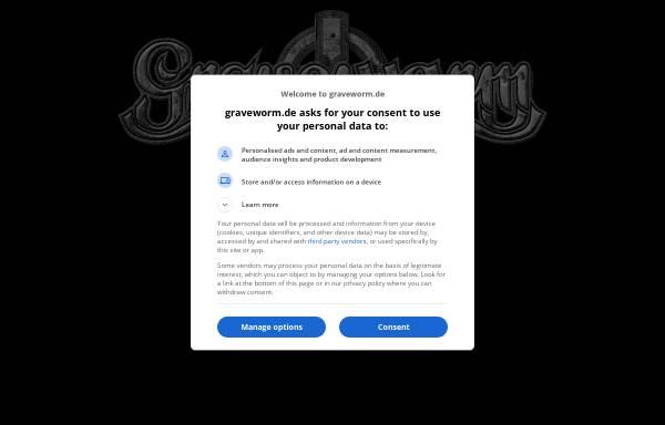 Vorschau von www.graveworm.de, Graveworm