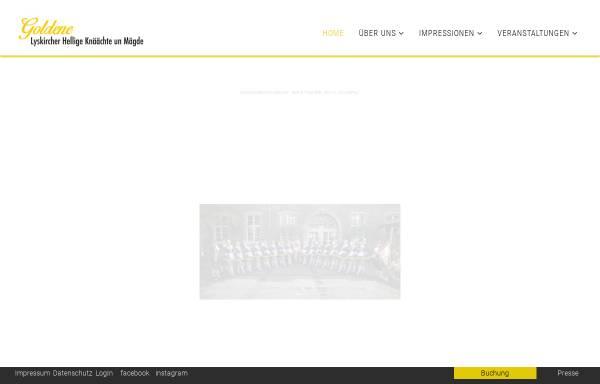 Vorschau von www.lhkm.de, Lyskircher Hellige Knäächte un Mägde