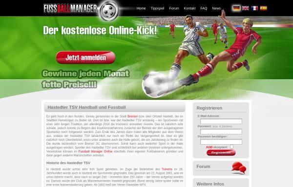 Vorschau von www.hastedter-tsv.de, Hastedter-TSV