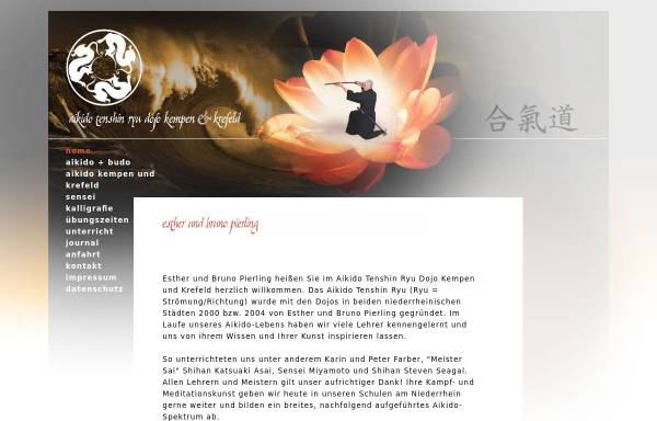 Vorschau von www.aikido-kempen-krefeld.de, Aikido Tenshin Dojo Kempen - Krefeld