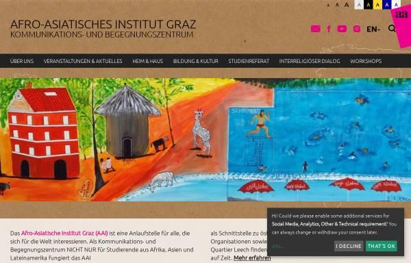 Vorschau von www.aai-graz.at, Afro-Asiatisches Institut (AAI) Graz