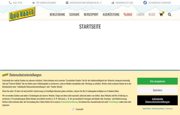 Vorschau von www.quovadis-hb.de, Quo Vadis
