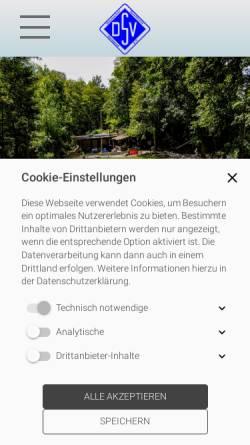 Vorschau der mobilen Webseite www.hsvessen-kupferdreh.de, HSV Essen-Kupferdreh 1959 e.V.