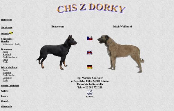 Vorschau von www.zdorky.cz, Chs Z Dorky