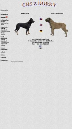 Vorschau der mobilen Webseite www.zdorky.cz, Chs Z Dorky