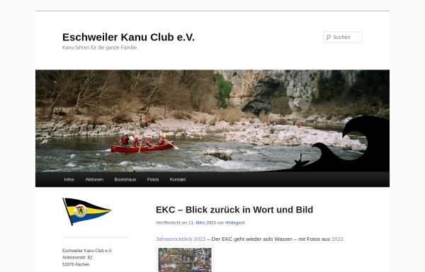 Vorschau von www.ekc-home.de, Eschweiler Kanu Club e.V.